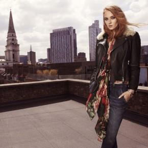 Sophie Turner for KarenMillen