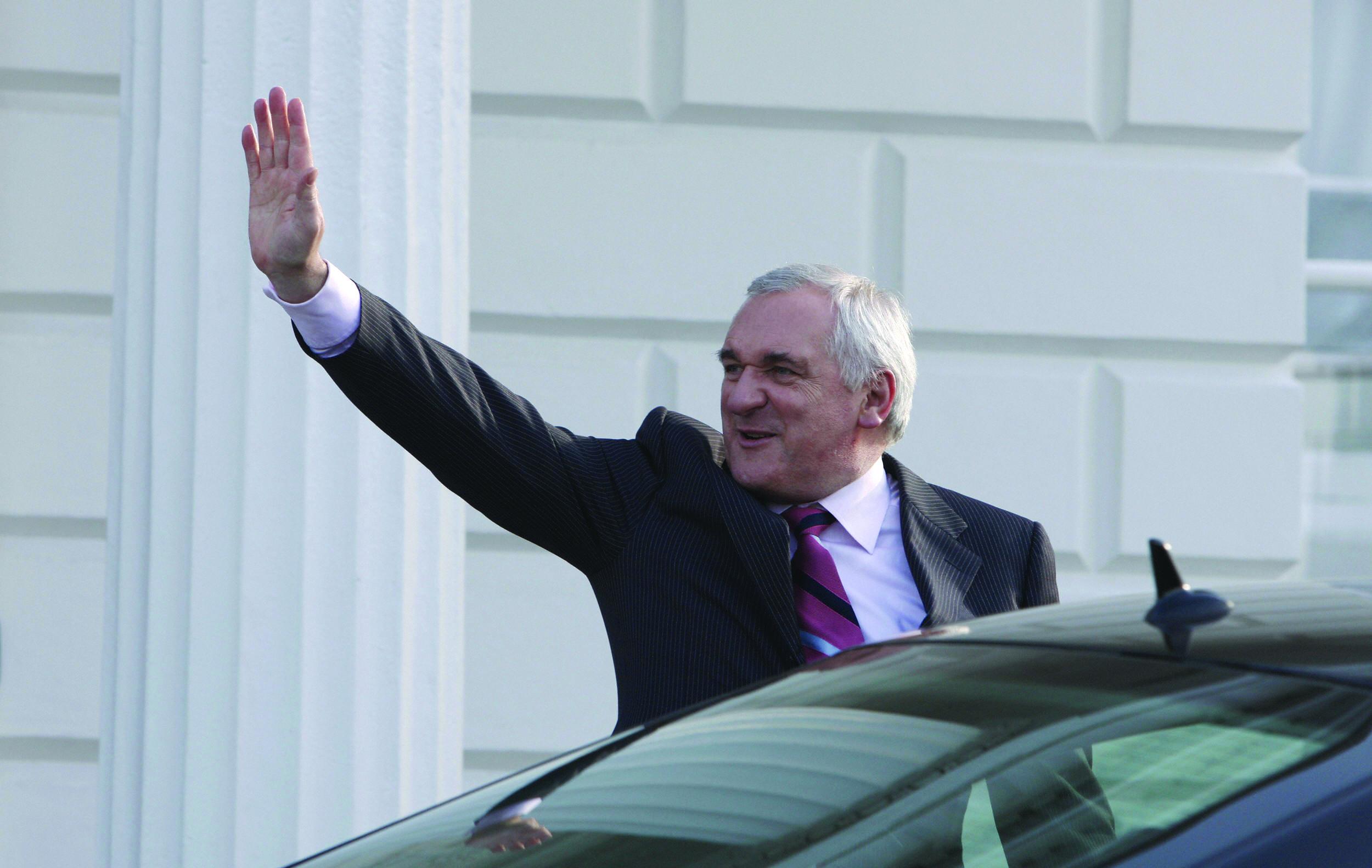 Irish Prime Minister (Taoiseach) Bertie
