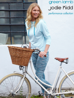 Win An Outfit From Jodie Kidd's Green Lamb Performance Collection